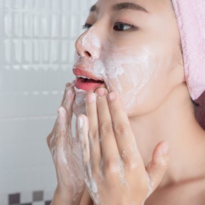 Cleanse your face
